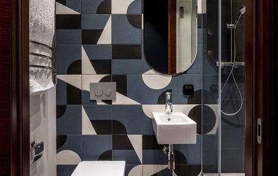Просто фото: Сантехника для маленькой ванной —  27 примеров