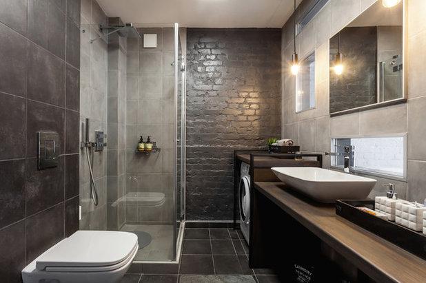Современный Ванная комната Uniqloft