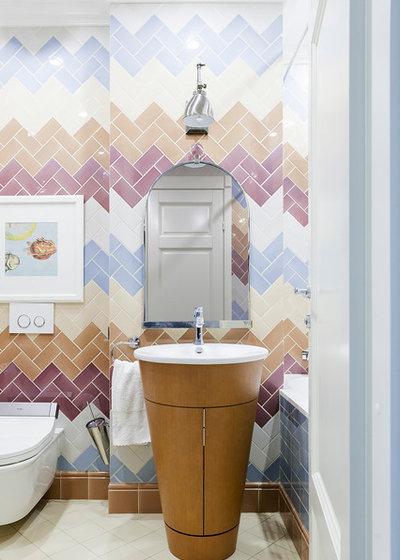 Eclectic Bathroom by Yuri Grishko