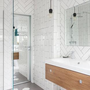Неиссякаемый источник вдохновения для домашнего уюта: ванная комната в скандинавском стиле