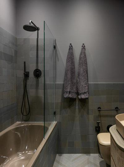 Современный Ванная комната by Дизайн-бюро Татьяны Алениной