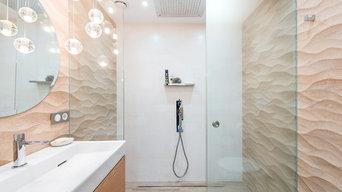 Ванная комната в ЖК Лазурный Берег