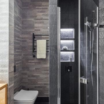 Ванная комната, вид на душевую