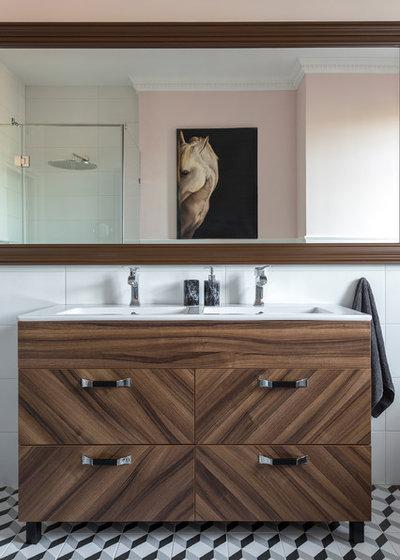 Современный Ванная комната by Make Interiors