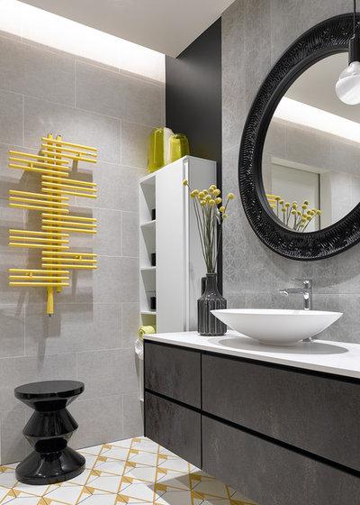 Современный Ванная комната by ARTUP BUREAU