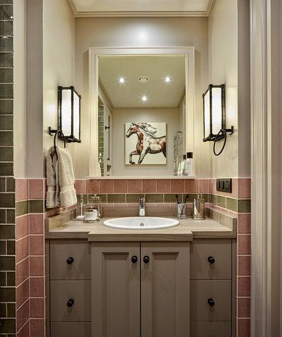 Современный Ванная комната by Anna Pavlovskaya Interiors