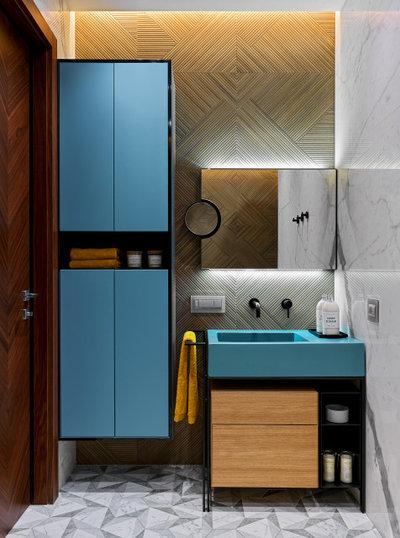 Современный Ванная комната by Дизайн Бюро Рублевой Марии