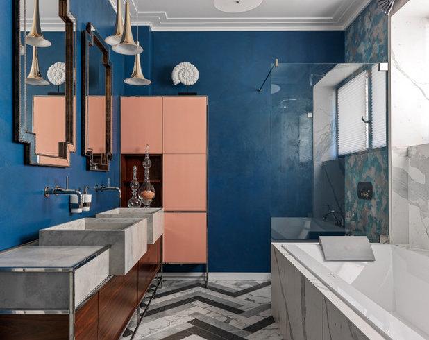 Неоклассика Ванная комната by AR-1   architecture & design