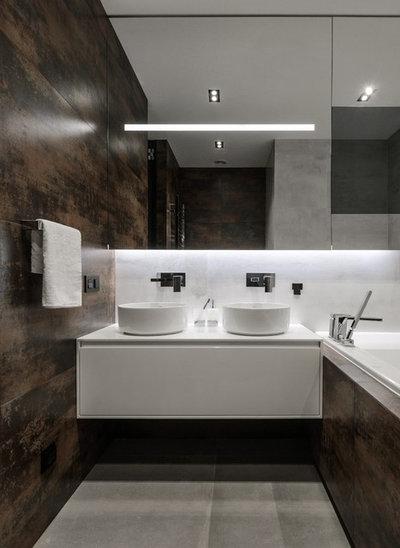 Современный Ванная комната by ART-UGOL