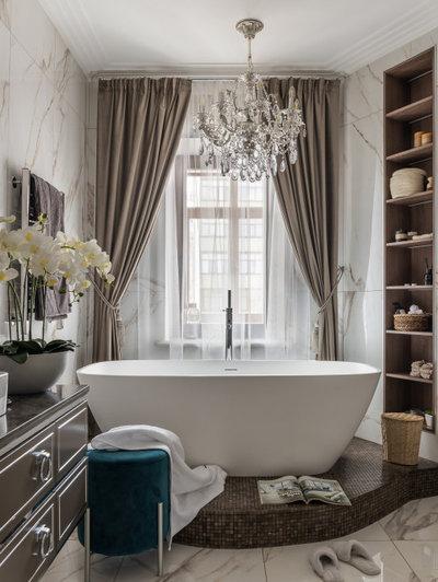 Современный Ванная комната by CV HOME