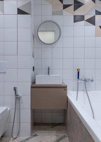 Современный Ванная комната by Buro 19.23