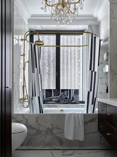 Современный Ванная комната by in[ex]terior by Solnyshkova