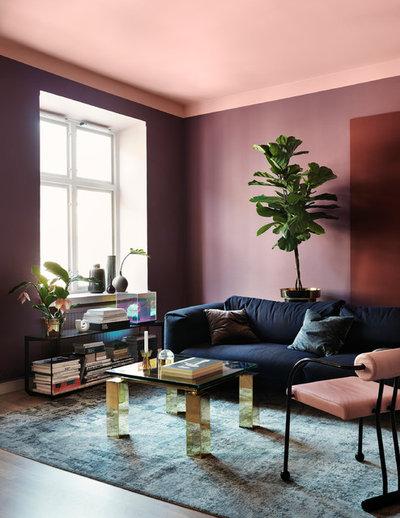Scandinavian Living Room by Alcro