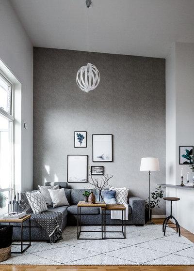 8 gründe, warum wohnzimmer in grau nicht langweilig sind!, Wohnzimmer