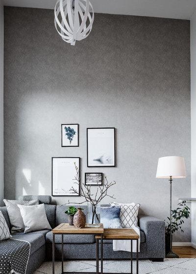 Modern Living Room by REVENY