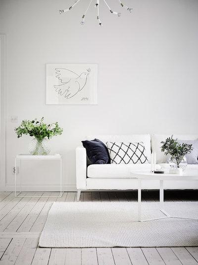 Skandinavisk Vardagsrum by Entrance Fastighetsmäkleri