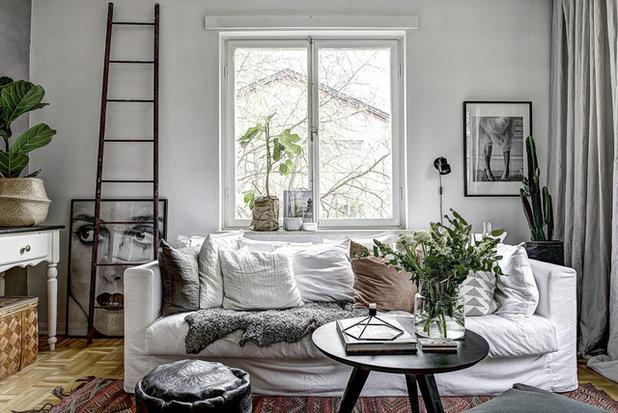 Skandinavisk Vardagsrum by Line Sandberg