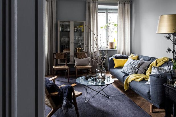 Klassisch modern Wohnbereich by HIMLA