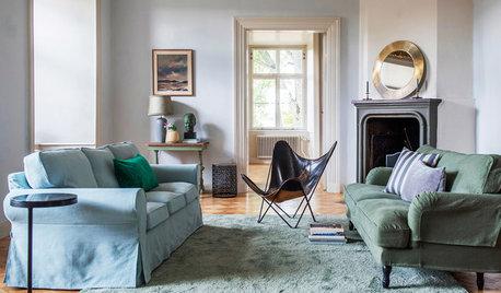 Tschüss Einheitsgrau! 10 Argumente für ein farbiges Sofa