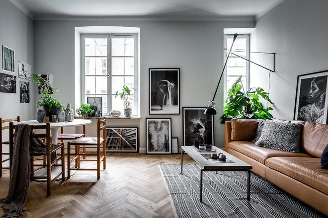 Skandinavisk Vardagsrum by Henrik Nero