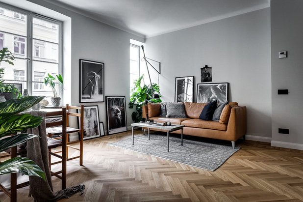 Scandinavian Living Room by Alexander White