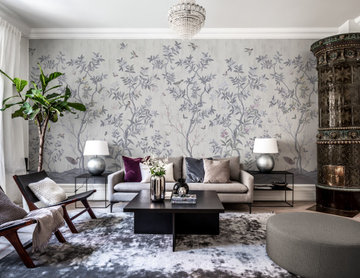 Chinoiserie Chic, Pearl Gray