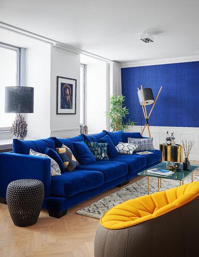 Contemporain Salon by Amsterdam Living