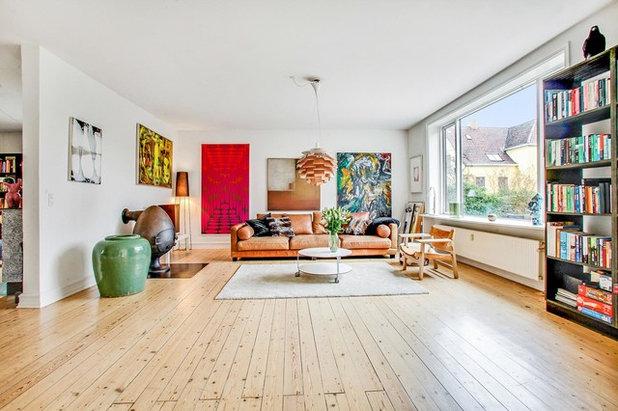 Skandinavisch Wohnbereich by Geisler & Rønne