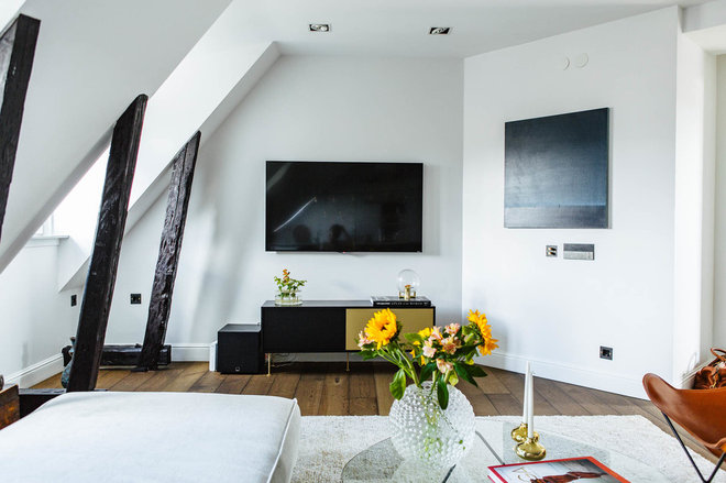 Modern Vardagsrum by Nooks
