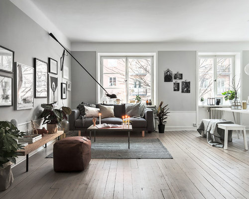 scandinavian living room design ideas, renovations & photos with