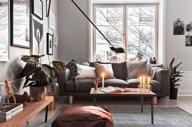 Skandinavisch Wohnbereich by Scandinavian Homes