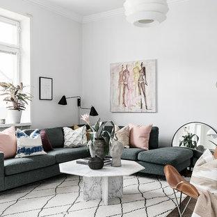 Idéer för att renovera ett skandinaviskt vardagsrum