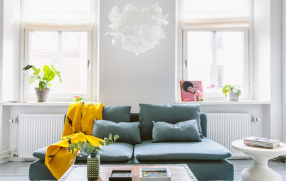 My Houzz: Simplicity and Personal Treasures in a Small City Flat