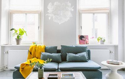 Visita privada: Un piso en Gotemburgo donde reina la sencillez