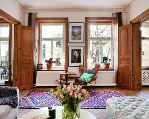 Foton och inredningsidéer för klassiska vardagsrum