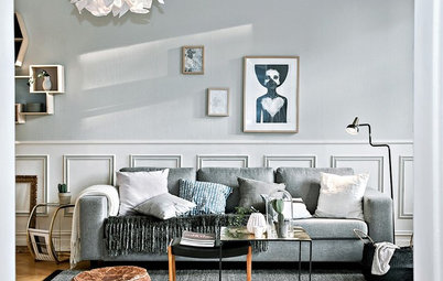 Graues Sofa: 7 coole Styling-Ideen