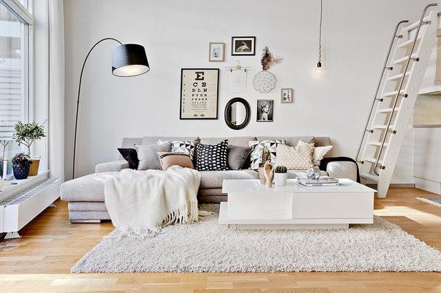 Skandinavisch Wohnbereich By Intro