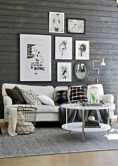 Scandinavian Living Room by Intro