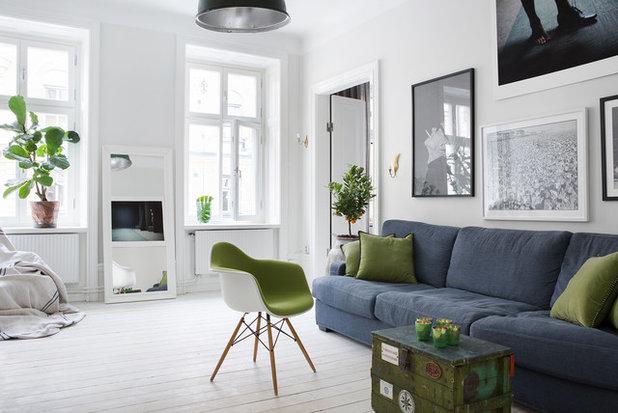 Scandinavian Living Room Houzz Tour: Alexander Ekman