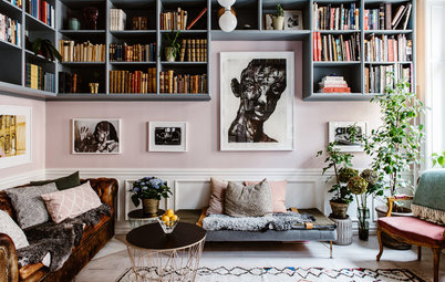 My Houzz: A Home Built Around Art and Family