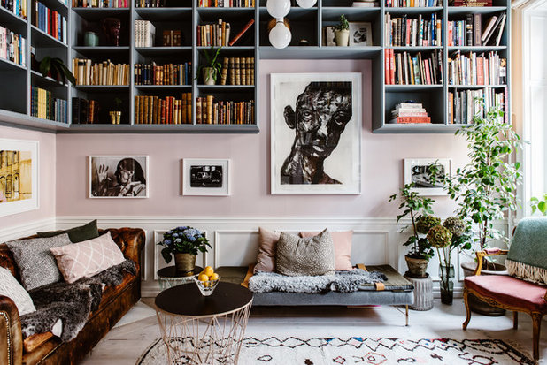 Eclectic Living Room by Nadja Endler | Photography
