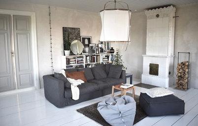 Houzz Tour: Kalkstenshuset på Gotland är fullt av design och stil