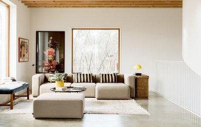 My Houzz: Come Costruire una Casa con Galleria d'Arte Annessa