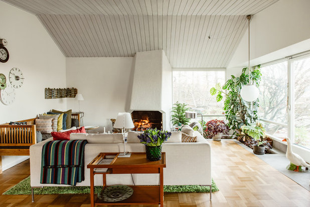 Houzz tour stylish creative and comfortable in stockholm