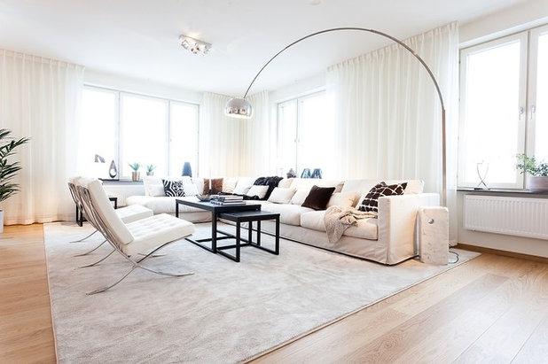 Contemporary Vardagsrum by Studio A3
