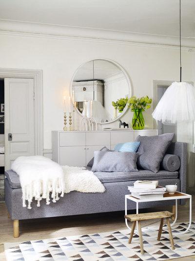 Scandinavian Living Room by Bed Factory Sweden