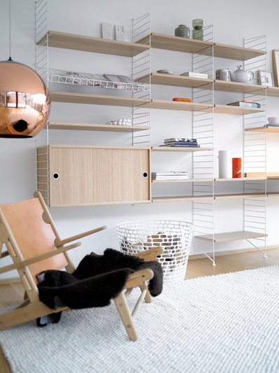 Skandinavisk Vardagsrum by String