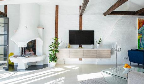Experternas råd: hur högt ska TV:n sitta?
