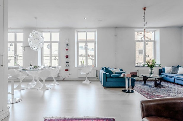 Contemporary Vardagsrum by Anna Bülow Homestaging & Inredning AB