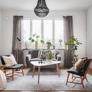 Bild på ett nordiskt vardagsrum